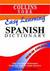 Collins York Easy Learning Spanish Dictionary (Learning Languages